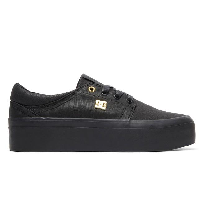 0 Women's Trase Platform TX SE Shoes Black ADJS300196 DC Shoes