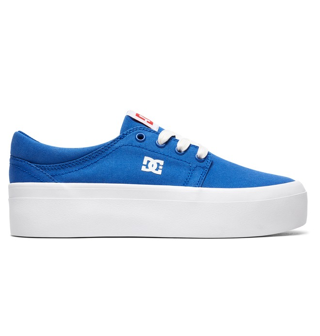 0 Women's Trase Platform TX SE - Shoes Blue ADJS300196 DC Shoes