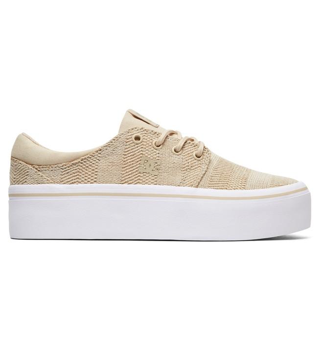 0 Trase Platform TX SE - Baskets pour Femme Marron ADJS300196 DC Shoes