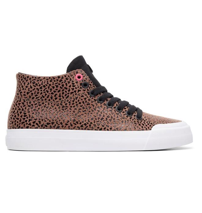 0 Women's Evan HI Zero SE High-Top Shoes Orange ADJS300222 DC Shoes