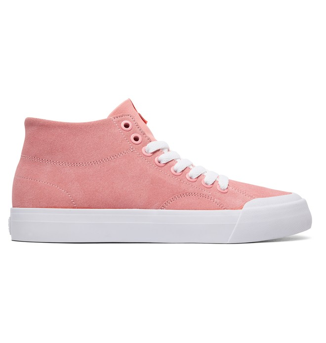 0 Women's Evan HI Zero SE High-Top Shoes Pink ADJS300222 DC Shoes