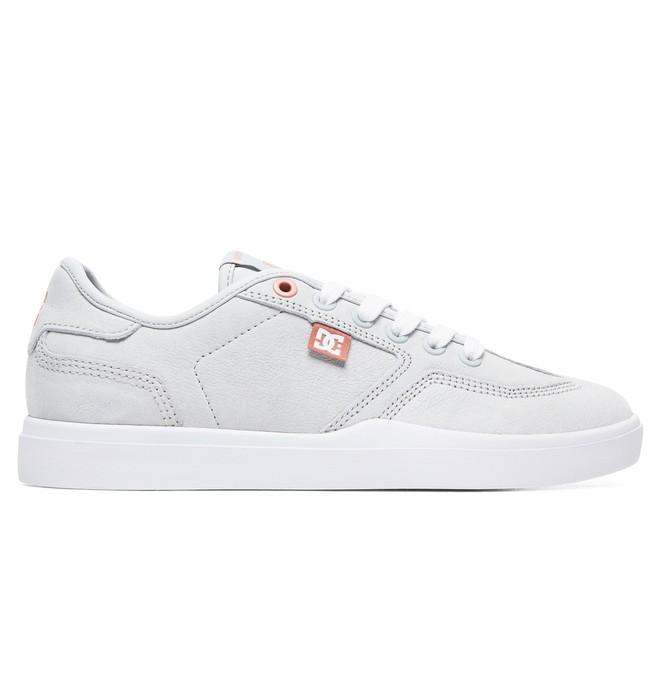 0 Women's Vestrey LE Leather Shoes Grey ADJS300224 DC Shoes