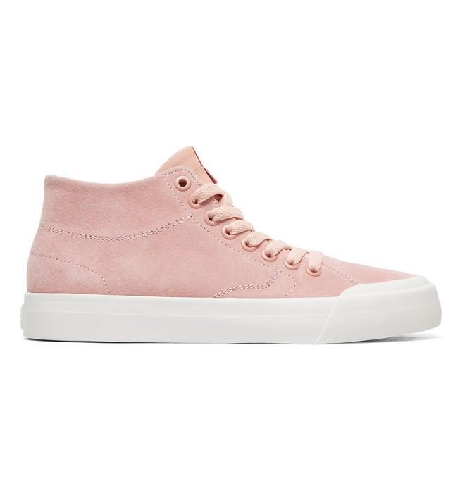 0 Evan Hi Zero - Zapatillas de cuero altas para Mujer Naranja ADJS300225 DC Shoes