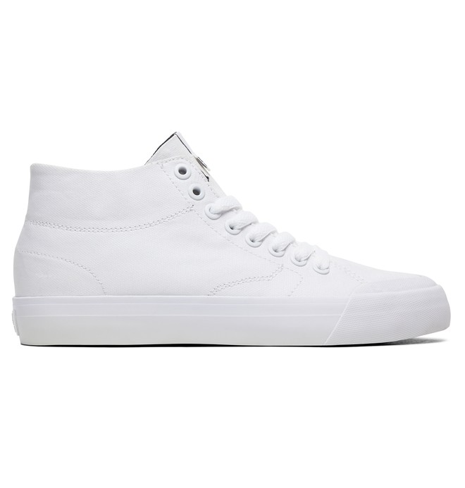 0 Women's Evan HI Zero TX High-Top Shoes White ADJS300229 DC Shoes