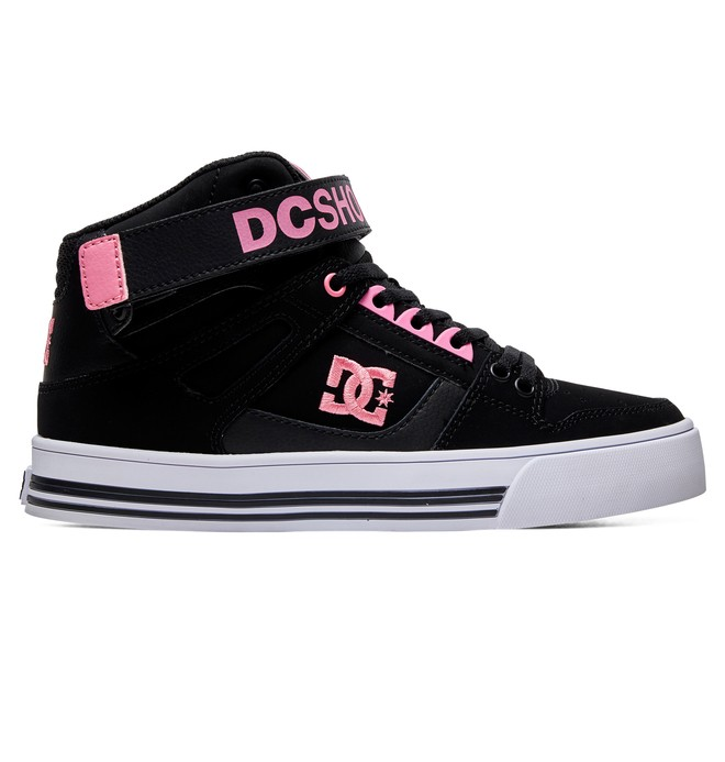 0 Women's Pure High Top V High Top Leather Shoes  ADJS400012 DC Shoes