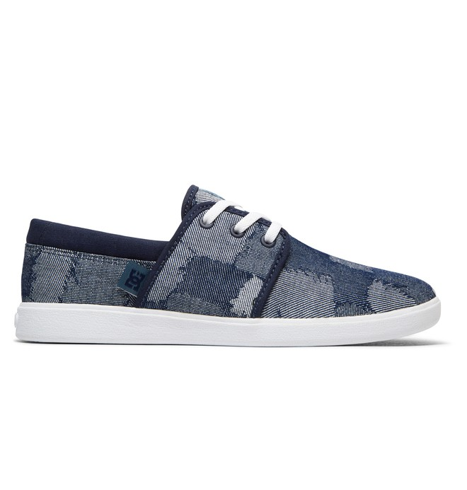 0 Haven TX LE - Leather Shoes for Women Blue ADJS700047 DC Shoes