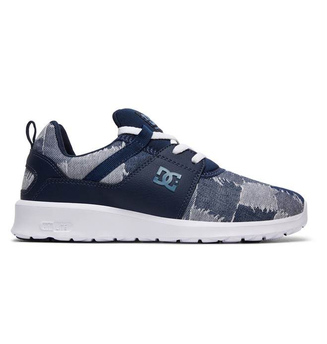 59fc61db79ee 0 Heathrow TX LE - Leather Shoes for Women Blue ADJS700049 DC Shoes