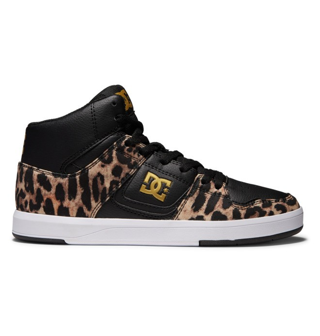 DC Cure - High-Top Leather Skate Shoes for Women  ADJS700096