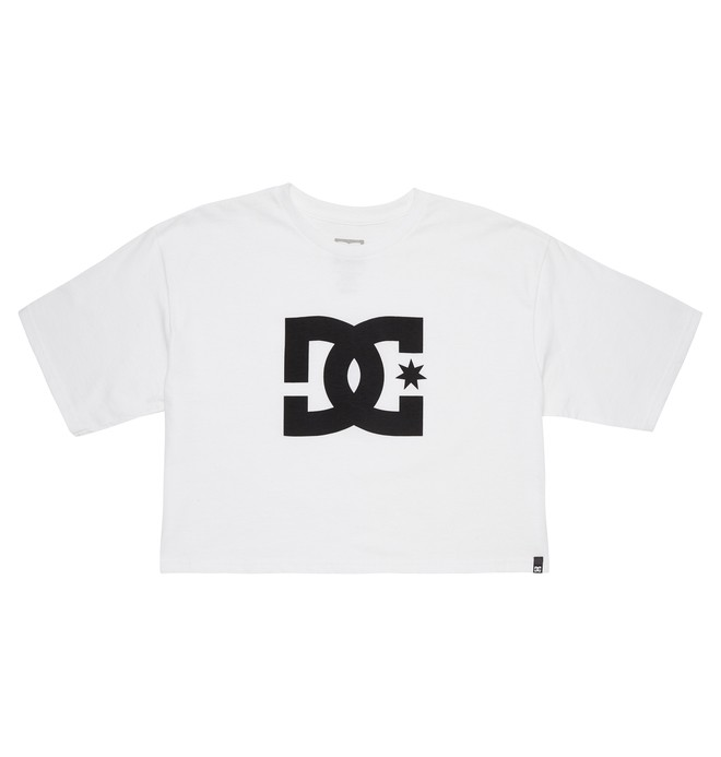 0 Star Cropped Tee  ADJZT03010 DC Shoes