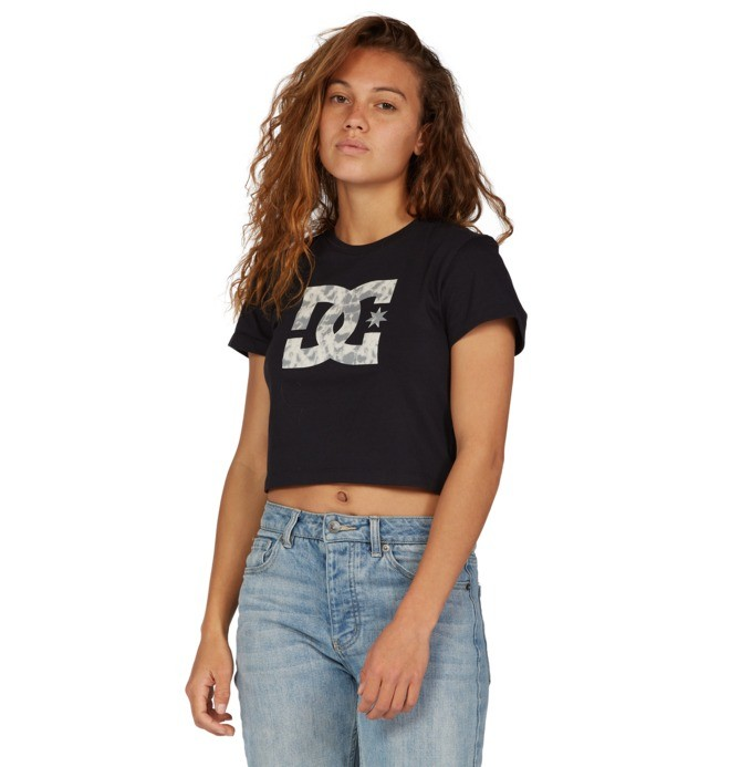 Star - Cropped T-Shirt for Women  ADJZT03029