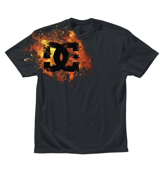 0 Kid's Fiyah Tee  ADKZT00094 DC Shoes