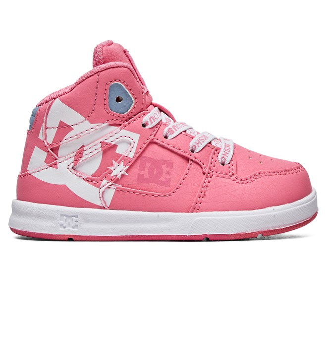 0 Toddler's Pure SE - High-Top Shoes Pink ADOS700030 DC Shoes