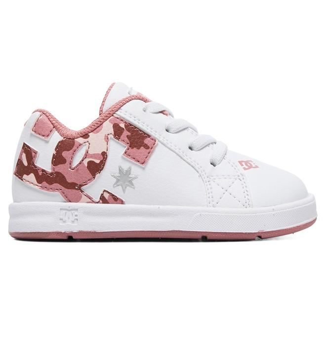 0 Kid's Court Graffik Elastic SE Shoes White ADOS700032 DC Shoes