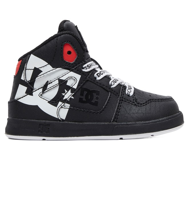 0 Toddler's Pure SE - High-Top Shoes Black ADTS700053 DC Shoes