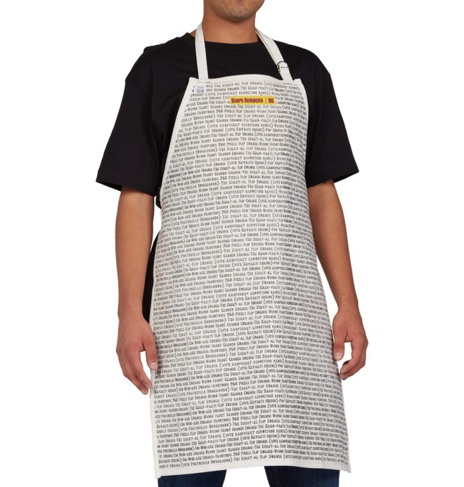 DC x Bobs Burgers - Reversible Apron ADYAA03126