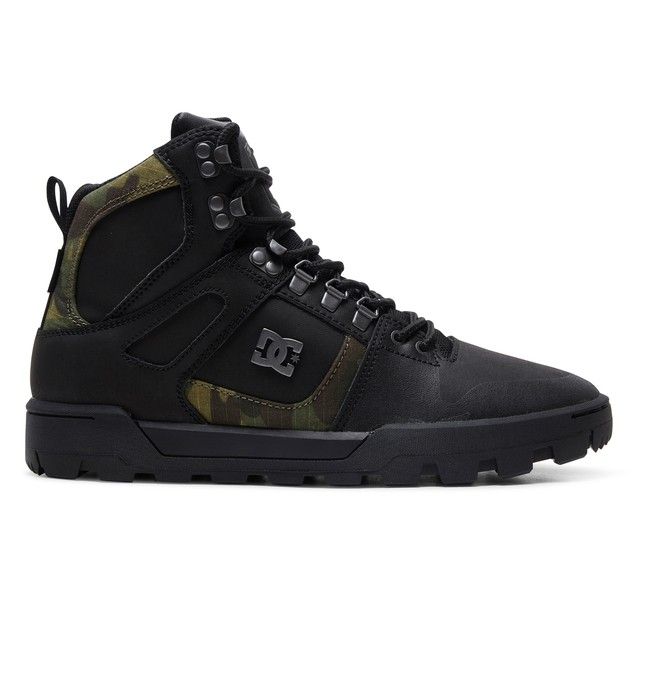 0 Pure WNT - Water Resistant Boots Black ADYB100006 DC Shoes