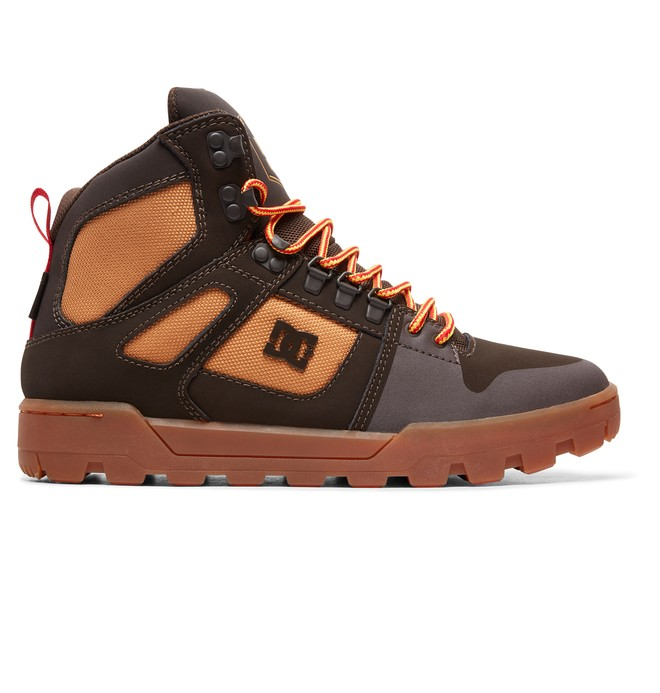 0 Pure WNT - Stivali impermeabili da Uomo Brown ADYB100006 DC Shoes