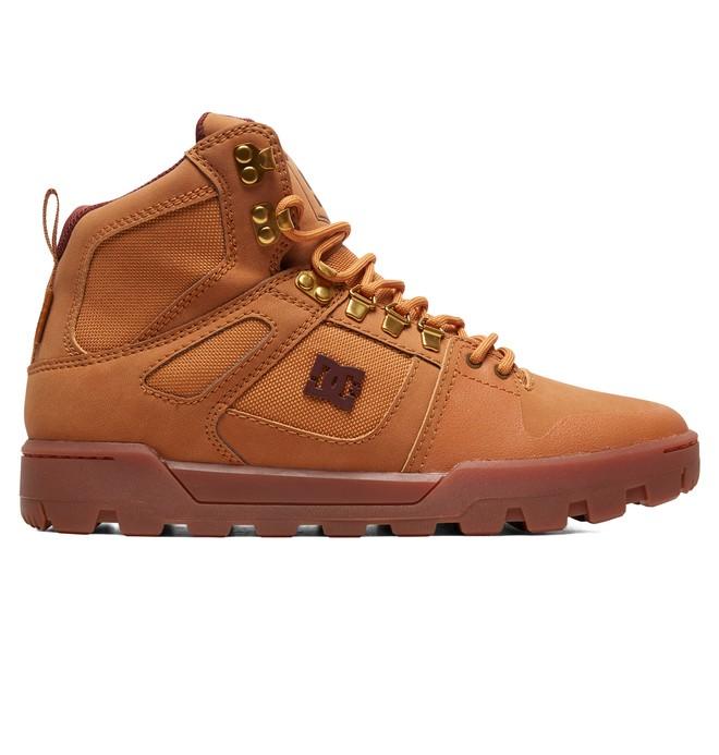 0 Pure WNT - Wasserabweisende Stiefel für Männer Beige ADYB100006 DC Shoes