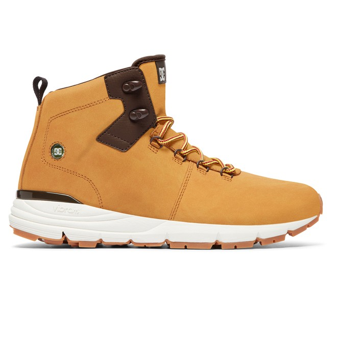 0 Muirland Lace-Up Leather Boots Beige ADYB700021 DC Shoes