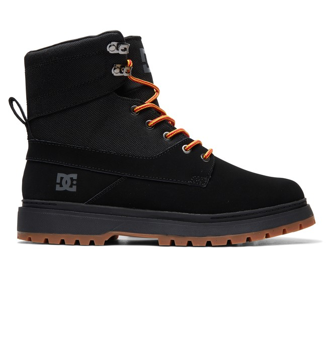 0 Uncas - Lace-Up Boots for Men Black ADYB700023 DC Shoes