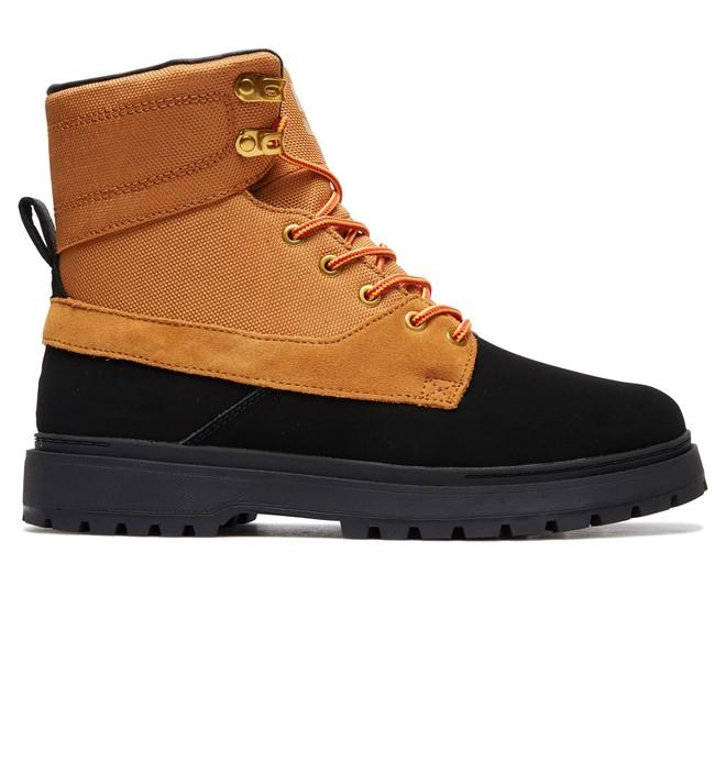 0 Uncas Lace-Up Boots Black ADYB700023 DC Shoes
