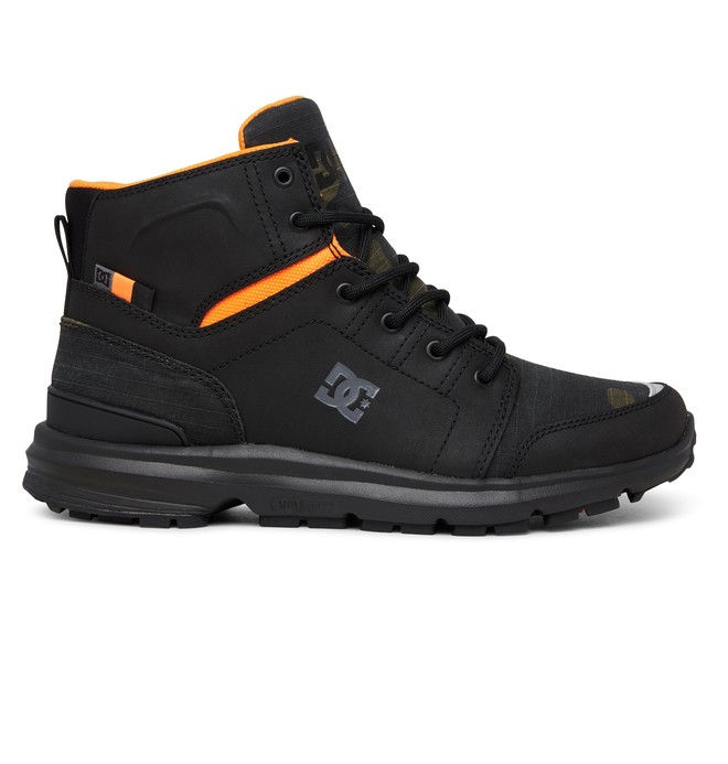 0 Torstein Leather Winter Boots Black ADYB700026 DC Shoes