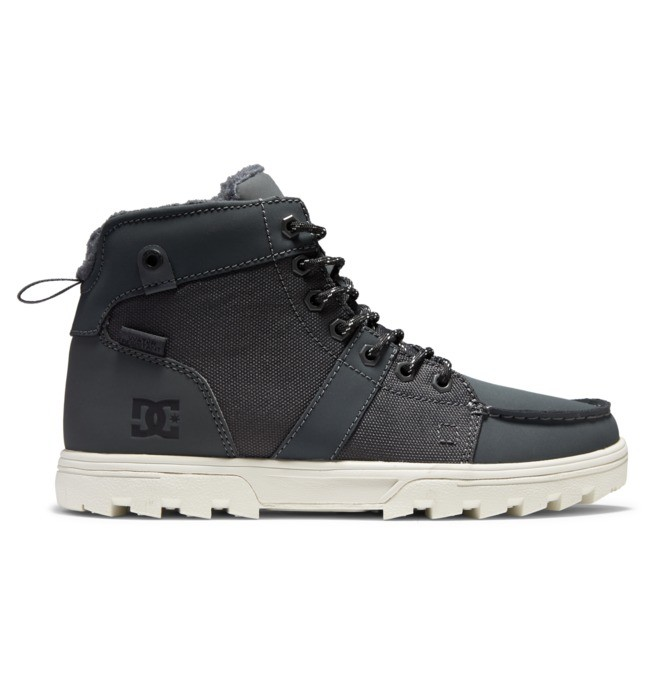 Woodland Leather Lace-up Winter Boots for Men  ADYB700033