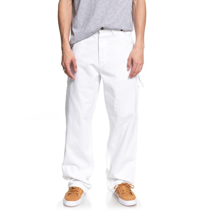 0 Core - Vaquero Estilo Carpintero para Hombre Blanco ADYDP03016 DC Shoes