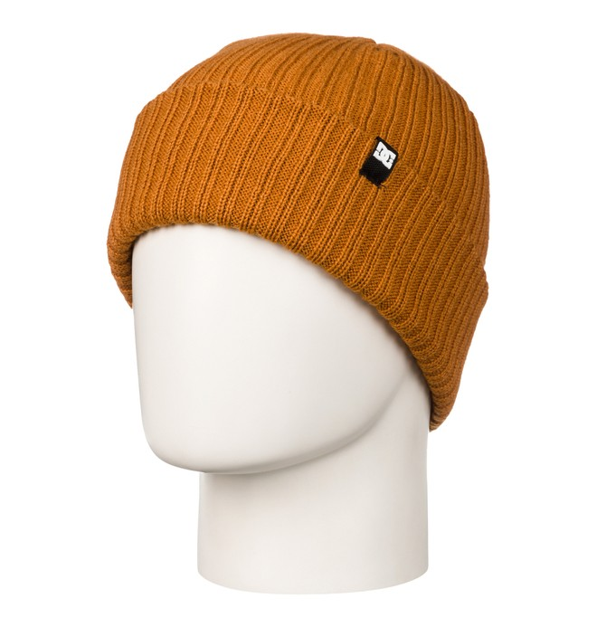 0 Fish N Destroy Cuff Beanie Orange ADYHA03004 DC Shoes