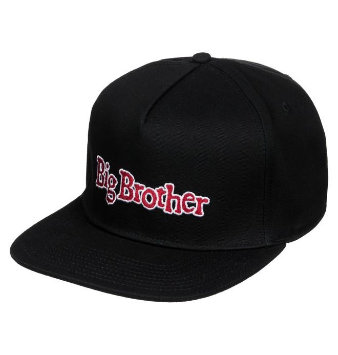 0 Men's Big Brother Snapback Hat  ADYHA03246 DC Shoes