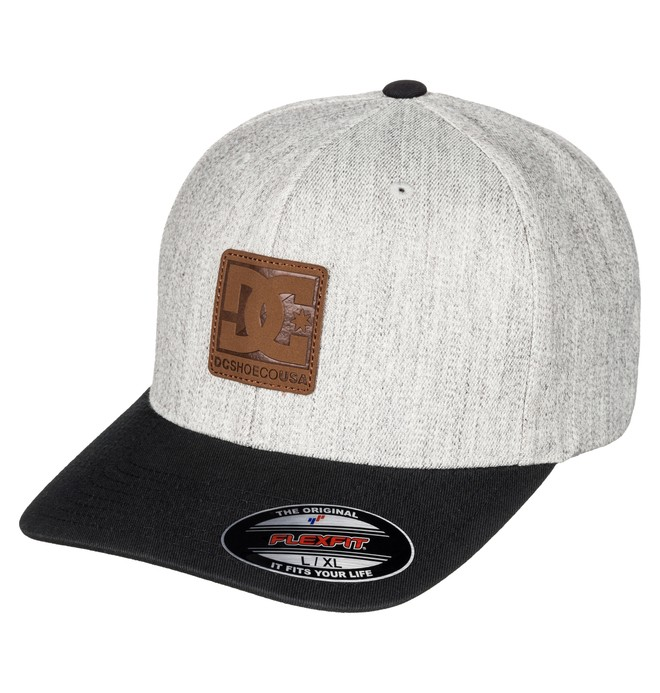0 Men's Carvin Flex Flexfit Hat  ADYHA03429 DC Shoes