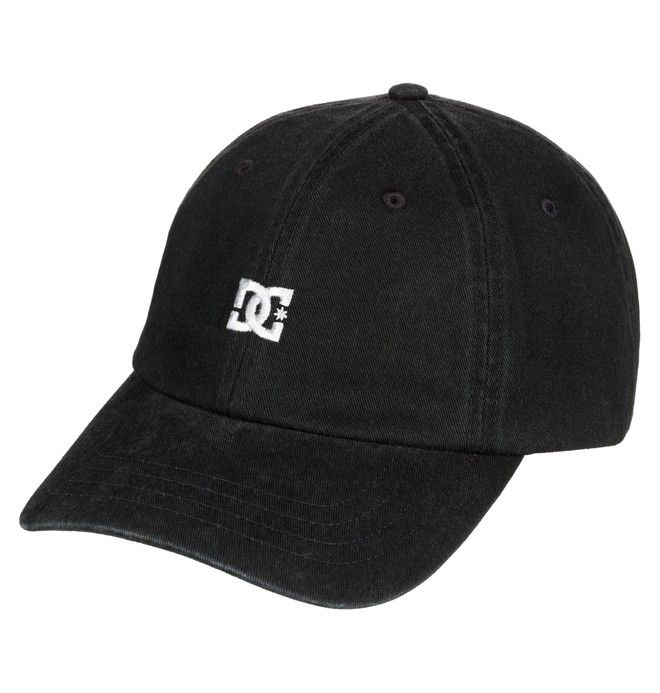 0 Uncle Fred Dad Hat Black ADYHA03546 DC Shoes