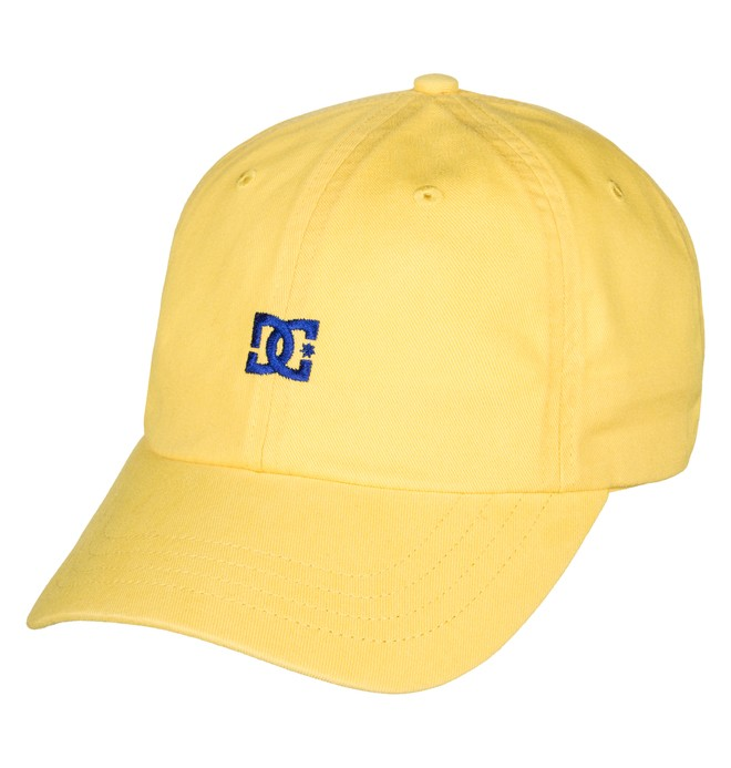 0 Uncle Fred Dad Hat Yellow ADYHA03546 DC Shoes