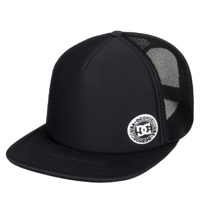 0 Balderson Trucker Hat Black ADYHA03628 DC Shoes