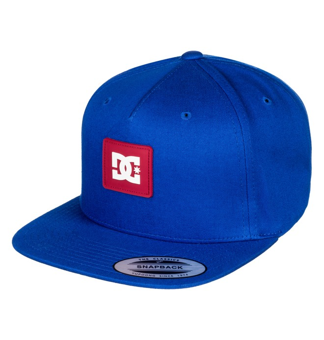 0 Snapdoodle Snapback Hat Blue ADYHA03631 DC Shoes