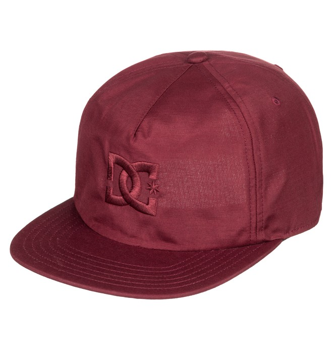 0 Floora Snapback Hat Red ADYHA03635 DC Shoes