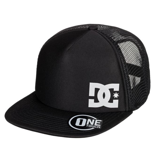 0 Greeters Trucker Hat Black ADYHA03638 DC Shoes