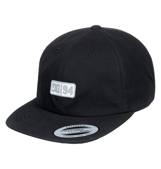 0 Severs Crusher Baseball Hat Black ADYHA03640 DC Shoes