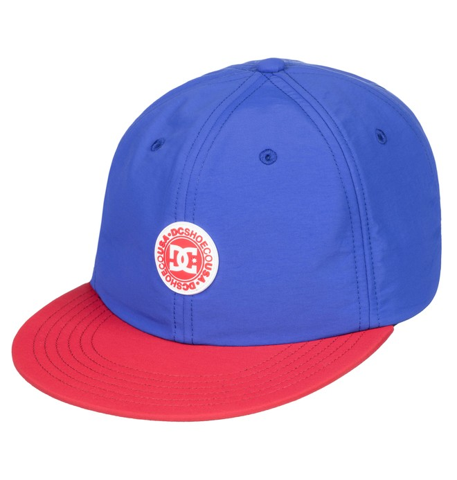 0 Fountains - Snapback Cap for Men Blue ADYHA03641 DC Shoes