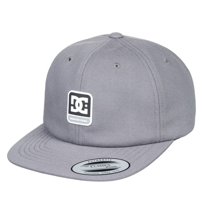 0 Roundballer Snapback Hat Green ADYHA03642 DC Shoes