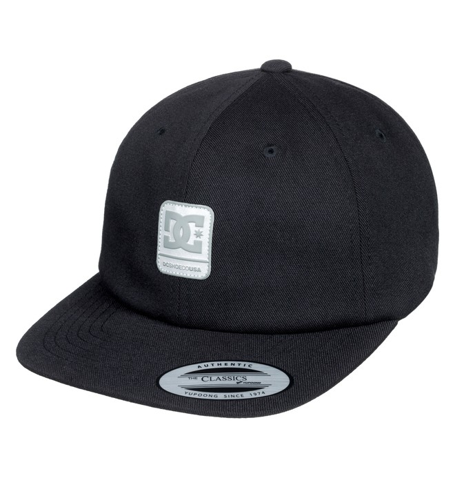 0 Roundballer Snapback Hat Black ADYHA03642 DC Shoes