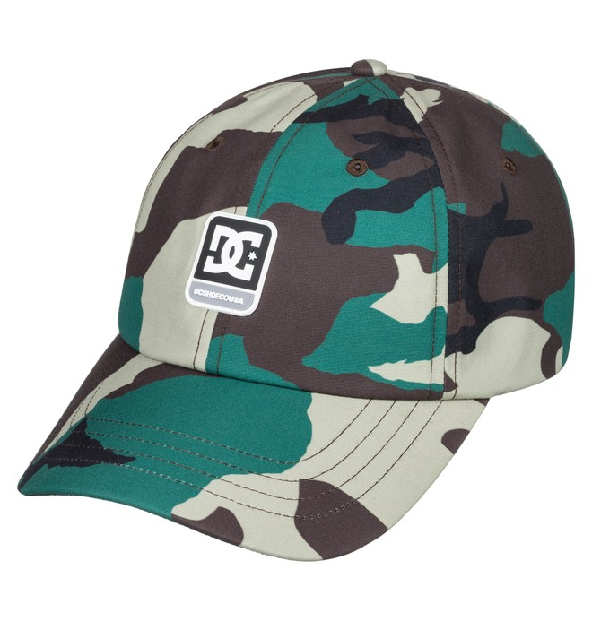 0 Camolit Baseball Hat  ADYHA03643 DC Shoes