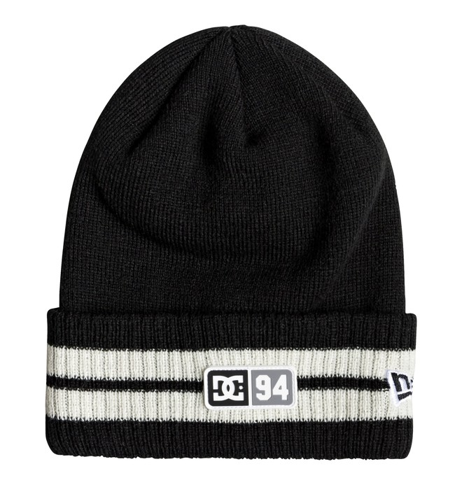 0 Stripe Tamer Beanie Black ADYHA03679 DC Shoes