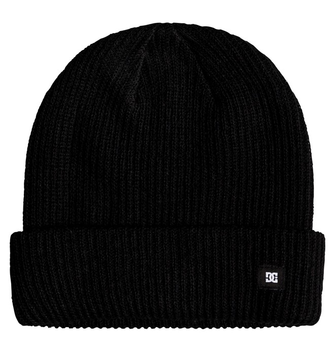 0 Harvester Cuff Beanie Black ADYHA03686 DC Shoes