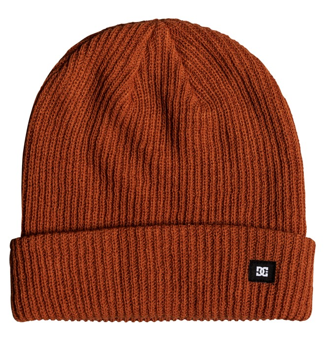 0 Harvester Cuff Beanie Orange ADYHA03686 DC Shoes