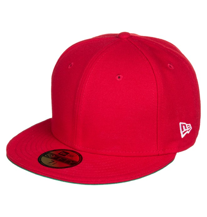0 Skate Fitted Hat Red ADYHA03690 DC Shoes