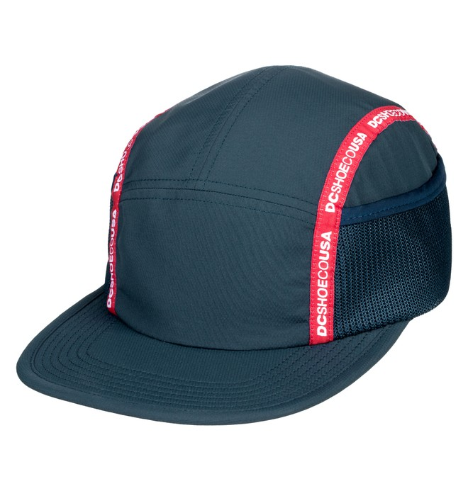 0 Blockage Camper Hat Blue ADYHA03719 DC Shoes