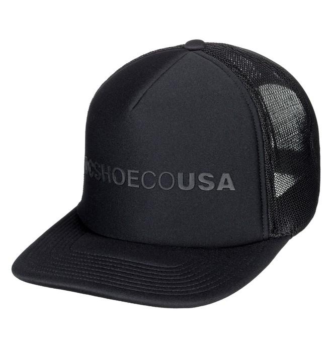 0 Lieberson Trucker Hat Black ADYHA03720 DC Shoes