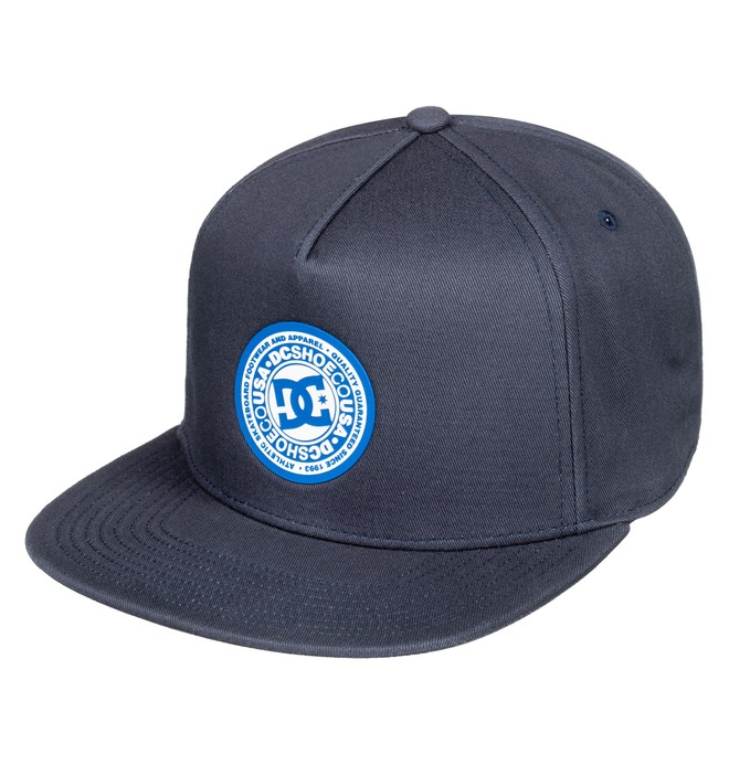 0 Reynotts Snapback Hat Blue ADYHA03733 DC Shoes