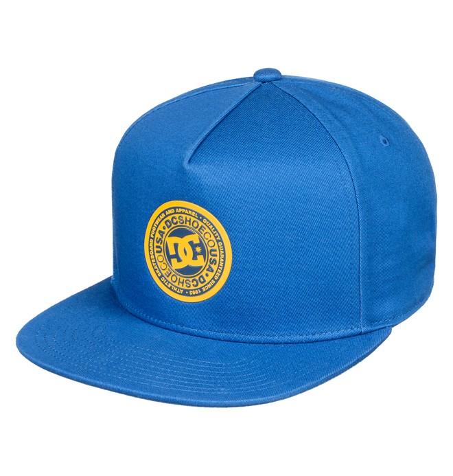 0 Reynotts Snapback Hat Blue ADYHA03733 DC Shoes